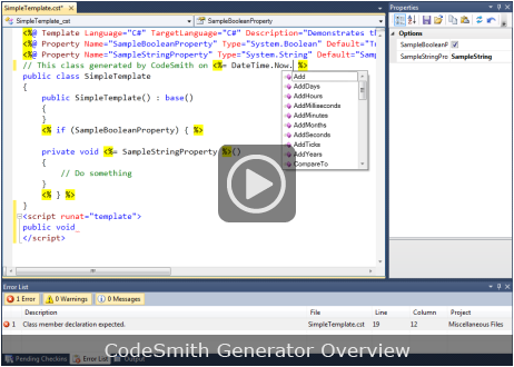 codesmith generator download